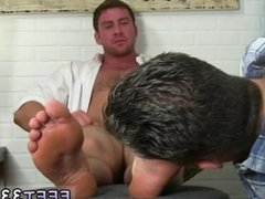 Dirty gay vidz feet Connor  super enjoys to have his