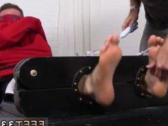 Cute gay vidz twinks foot  super fetish Kenny Tickled