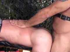 Leather fetish vidz bear barebacks  super chubby mature