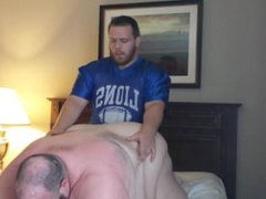 White Big vidz Ass Superchub  super Bear Fucked by His Chubby Football Bear Boyfriend,