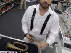 Suspender Guy vidz Takes It  super Up The Ass In The Pawnshop