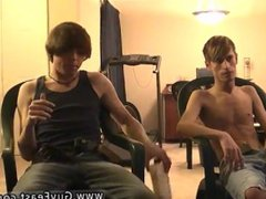 Long haired vidz male models  super Jared is nervous about his first time jacking off