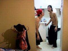 Nudist boys vidz circumcised gay  super Ian & Dustin Desperate To Piss!