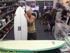 Amateur surfer vidz posing