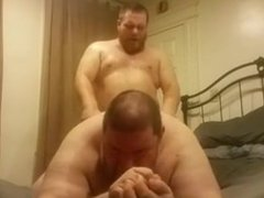 Chubby Daddy vidz Bear Gets  super Fucked by His Chubby Football Bear Friend