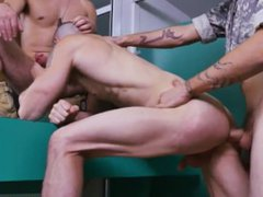 Army naked vidz big penis  super and gay military stories and films Good Anal Training