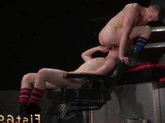 Teenage boys vidz used as  super gay sex slave Axel Abysse and Matt Wylde bathe each