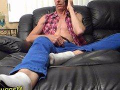 Foot Fetish vidz Phone Sex  super - HUGE Cock and Cumshot - Richard Lennox - Manpuppy