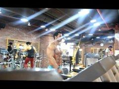 indian muscle vidz men bluge  super in gym