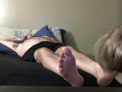 Father And vidz Son Foot  super Fetish Feet Play Dad & Son Feet Sniffing Foot Sniff