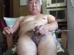 Japanese Old vidz Man Ejaculation