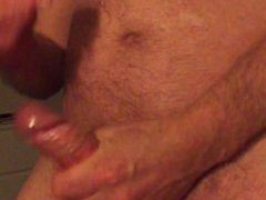 I cummed vidz on his  super cum and he filmed me and I had a dildo in mys ass! Hot!!