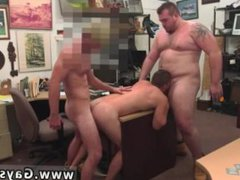 Straight college vidz guys get  super naked gay Guy completes up with anal lovemaking