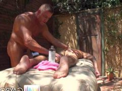 HOT MASSAGE vidz & FUCK  super + TOY : **TYLER SAINT & AJ IRONS** : Episode 1 of 2