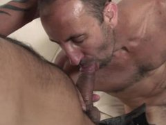 Horny DILF vidz wants to  super fuck his buddy and give him a creampie