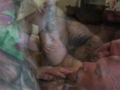 Bonding & vidz Breeding pt1  super (Liam's First Double Penetration)