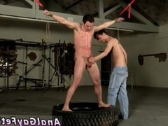Bondage stocky vidz male gay  super The caning catches the guy off-guard, and the