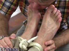 Gay s vidz sex video  super xxx Chase LaChance Tied Up, Gagged & Foot Worshiped