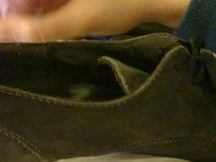 cum over vidz shoes of  super gf 3