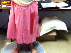 Pee in vidz Pink Skirt  super #1 - Video 119