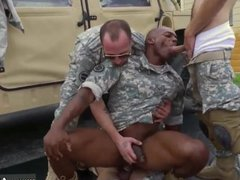 Military doctors vidz checking male  super penis and
