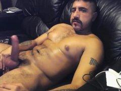 Latin Daddy vidz Home Alone  super & Jerking Off