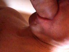 Une grosse vidz queue pour  super ma bouche - Cum in my mouth