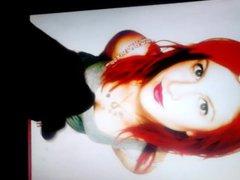 Hayley Williams vidz cum tribute  super #8