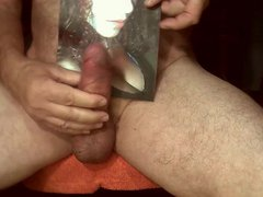 Tribute for vidz selma911 -  super warm salty sperm on her mouth