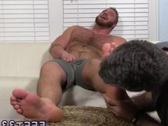 Feet hunks vidz movies and  super free squirt on feet