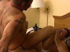 Chubby bears vidz in hotel  super anal
