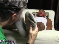 Gays guys vidz sucking feet  super and swallowing cum