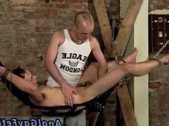 Gay male vidz electrical bondage  super and male