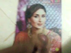 Kareena Kapoor vidz piss &  super cum tribute-slurpy
