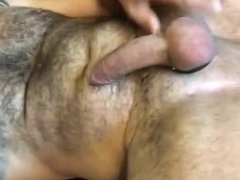 Hot Hairy vidz Muscle Daddy  super Jerks Off for Me and Cums