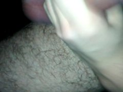 My Tied vidz cock, new  super experience of jerking off.