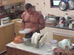 Bruno And vidz Symao Kitchen  super Blowjobs