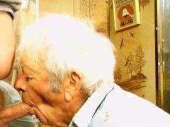Gay grandpa vidz cum