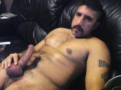 Sebastian Rio vidz edging and  super shooting huge thick load