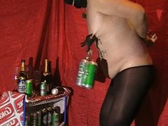Tits Pain vidz with Heineken  super Cans