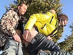 Outdoor men vidz with big  super cocks gay Snow Bunnies