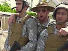 Spy military vidz guys jerking  super off gay xxx