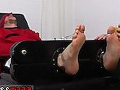Feet on vidz penis gay  super Kenny Tickled In A