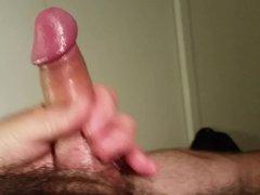 Big creamy vidz load from  super my uncut cock
