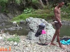 Tall lean vidz Latino skinny-dipping  super before oral 2some