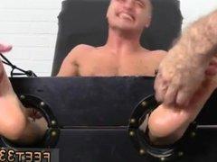 Gay boys vidz toes sucking  super Jock Tommy Tickle d