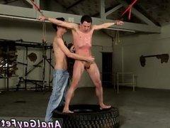 Skinny boys vidz bondage gay  super first time Hung Boy