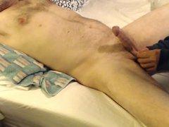 wife squeezes vidz balls for  super stroke free cumshot blast