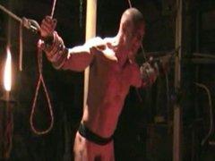 Bondage Montage vidz whipping ,  super bondage, gut punch, muscle.