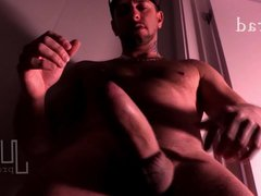 Brad Rioux vidz Strokes Monster  super 10 inches Thick Dick Laundry Room